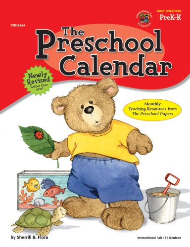 The Preschool Calendar Sherrill B Flora  Amazon