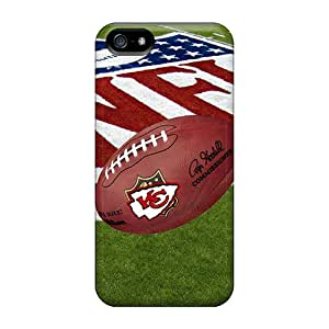 Iphone 5/5s Tdk3692CVIo Custom Trendy Kansas City Chiefs Image Perfect Hard Phone Cover -VIVIENRowland