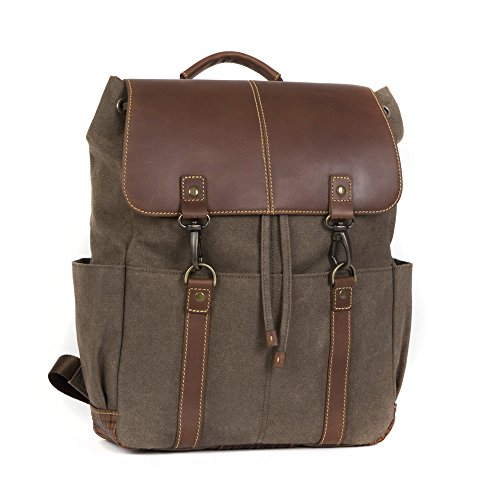 Boconi Bryant LTE Rucksack (Heather Brown with Houndstooth) by Boconi