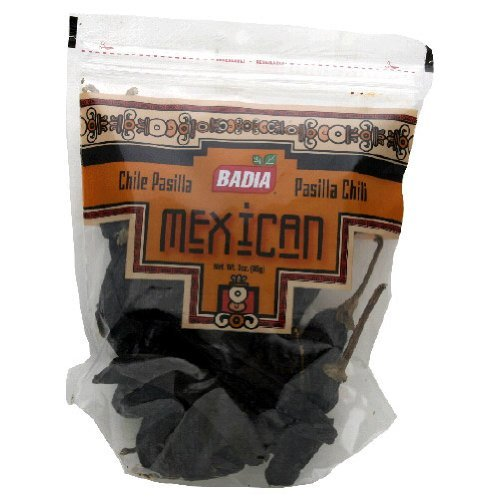 Badia Pasilla Negro Largo, 3-Ounce (Pack of 12) by Badia