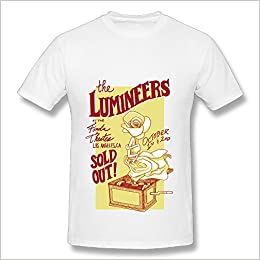 Amazoncom The Lumineers The Cleopatra Tour 2016 Logo T Shirt For