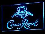 Crown Royal Whiskey beer Bar LED Neon Light Sign Man Cave A104-B
