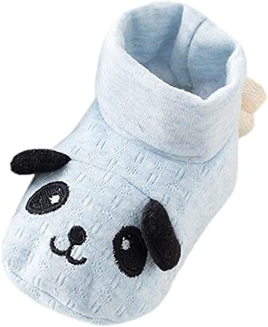 Infant Newborn Toddler Baby Girls Boy Prewalker Rabbit Cartoon Single Crib Shoes