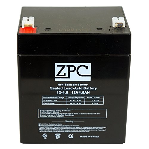 ZPC 12V 4.5Ah 5AH Battery Razor E100 Electric Scooter & Gas