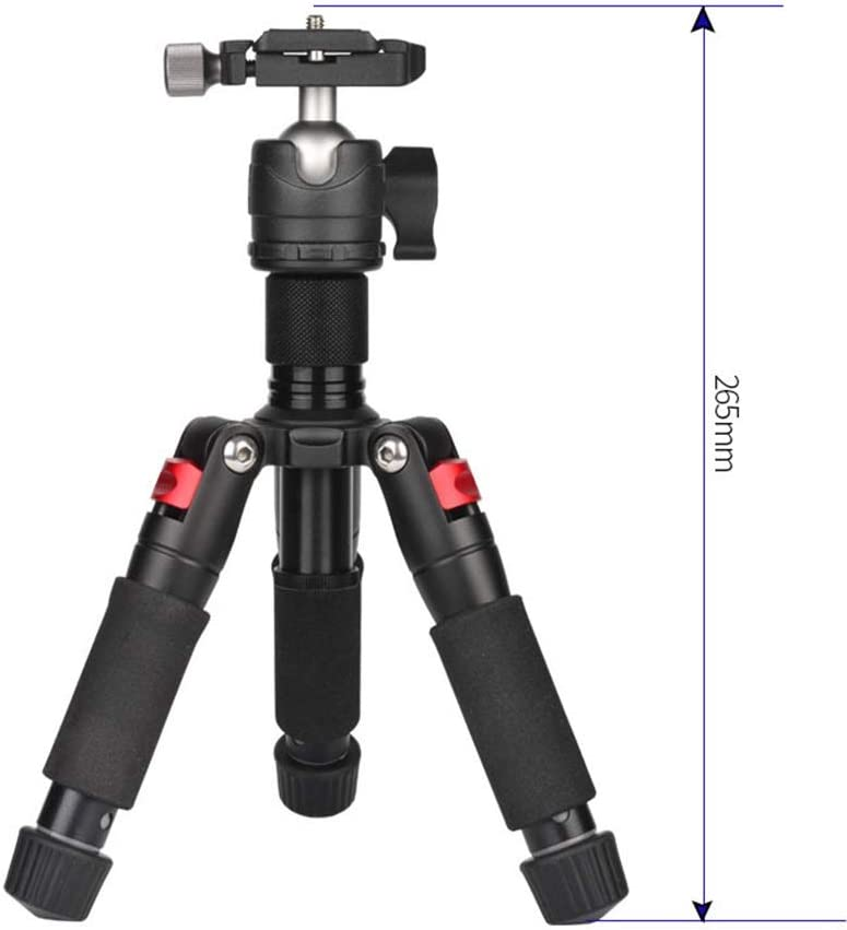 MAODATOU Lightweight Tripod Camera Portable Tripod Travel Tripod Outdoor Compact Aluminum Camera Tripod Suitable for Mobile Digital SLR Camera Travel and Work Combining Practicality and Portability