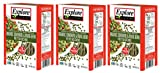Gluten-Free Pasta - Organic Edamame & Mung Bean Fettuccine - 8 Ounce Boxes (Pack of 3)