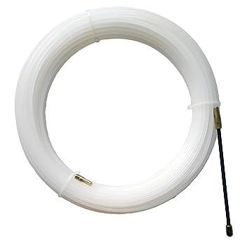 Lesai Aiguille Electricien Nylon Tire Fil ø 4 Mm X 25 M Tire