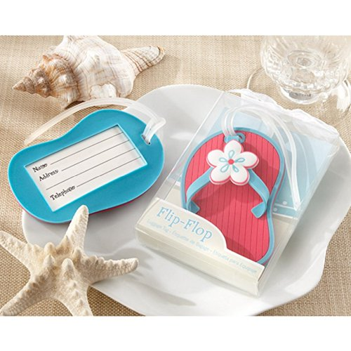 Flip-Flop Beach-Themed Luggage Tag (pack of 40)