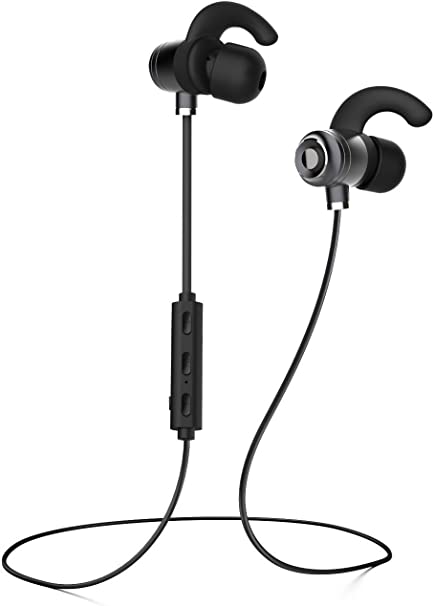 Works with Boxgear LG Lucid2 VS870 Bluetooth Headset in-Ear Running Earbuds IPX4 Waterproof with Mic Stereo Earphones Samsung,Google Pixel,LG Apple CVC 6.0 Noise Cancellation