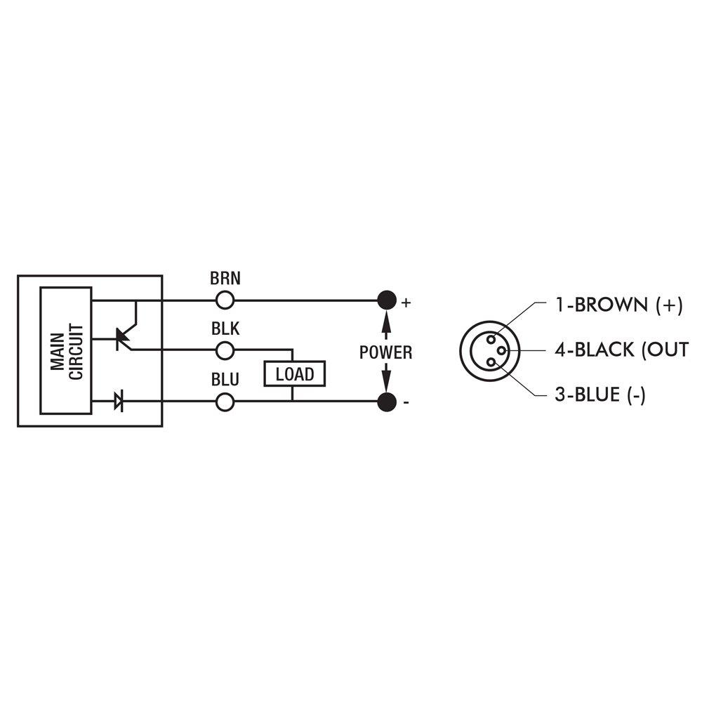 DE-STA-CO 810173 Hall Effect Switch