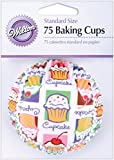 Wilton Cupcake Heaven Standard Baking Cups - Pack of 75