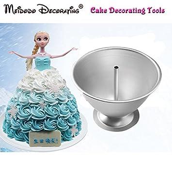 Neu Aluminium Kuchenform Diy Prinzessin Kuchen Form Barbie