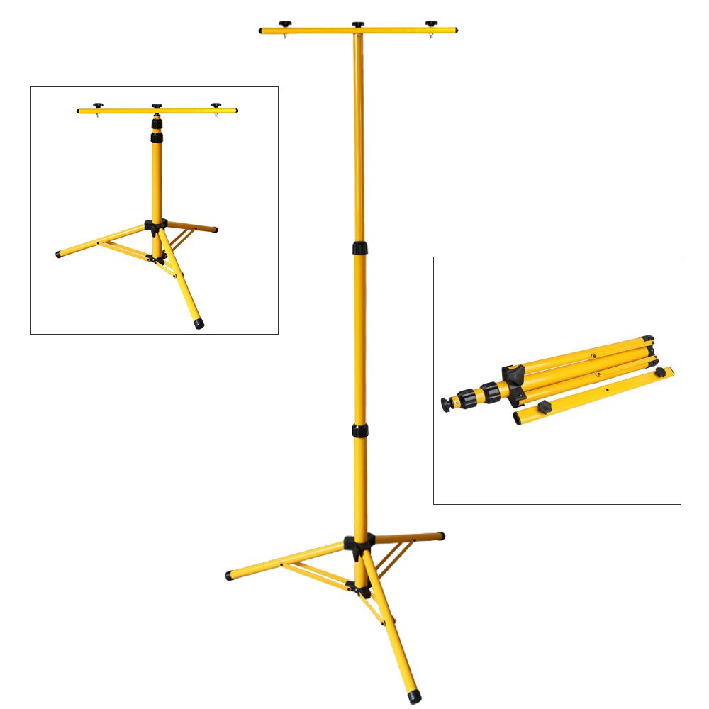 Luz Protector Port/átil IP65 Teleskop tr/ípode Recargable del Jard/ín al Aire Libre VINGO/® 2X 50W Blanco fr/ío LED Foco Recargable Pescado Patio Terraza Camping