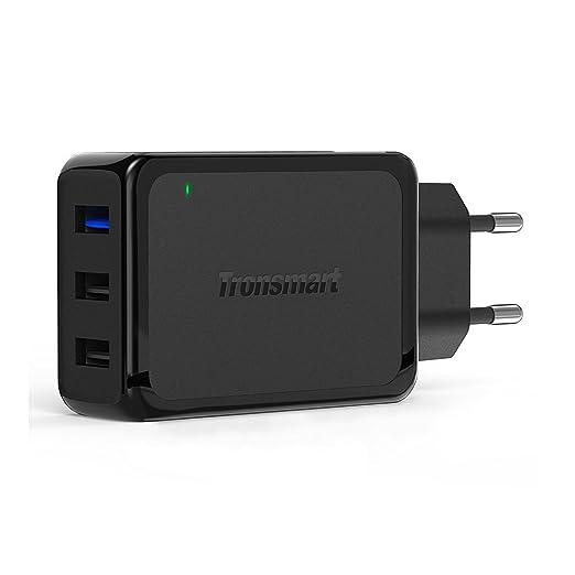 80 opinioni per Caricabatterie Veloce [3 Porte USB] Tronsmart 42W per iPhone 7 / SE / 6s / 5s,