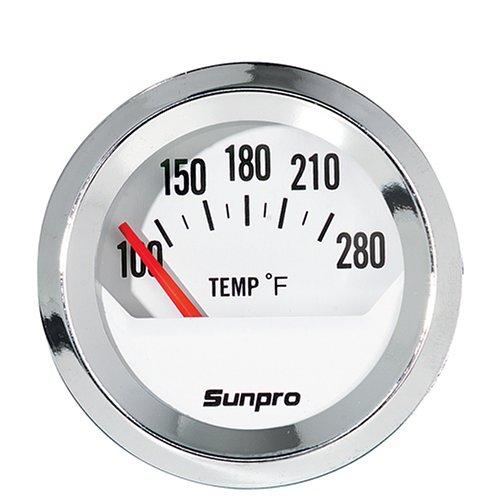 sunpro cp8201 styleline electrical water oil temperature sunpro tachometer wiring diagram sunpro temperature gauge wiring diagram #14