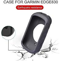 BeneU Custodia in Silicone Nera per GPS Garmin Edge 830 Navigazione per Bici Nera Resistente allo Strappo, Ai Graffi O alle Gocce Corte
