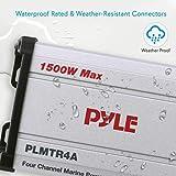 Pyle 4-Channel Marine Amplifier Receiver
