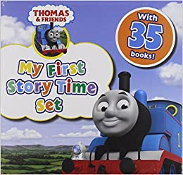 Book Thomas and Friends Storytime Children Collection Gift Set Pack - 35 Books, The Tall Friend, Busy Engines, Thomas Crazy D