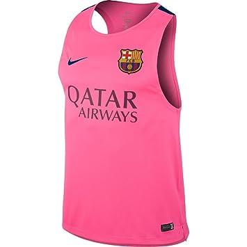 free shipping 7fee4 8eac6 2014-2015 Barcelona Nike Sleeveless Jersey (Pink), Jerseys ...