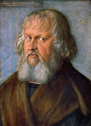 kunst für alle Art Print/Poster: Albrecht Dürer Portrait of Hieronymus Holzschuher Picture, Fine Art Poster, 15.7x21.7 inch / 40x55 cm