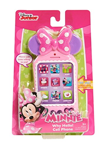 Disney Minnie Why Hello There Cell Phone (Mickey Mouse Cell Phone)