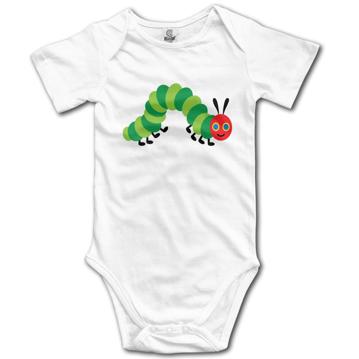 The Very Hungry Caterpillar Newbaby Baby Romper Summer Short Sleeve Jumpsuit Novelty Funny Gift
