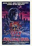 City of the Walking Dead Movie Poster (11 x 17 Inches - 28cm x 44cm) (1984) Style A -(Hugo Stiglitz)(Laura Trotter)(Maria Rosaria Omaggio)(Francisco Rabal)(Sonia Viviani)