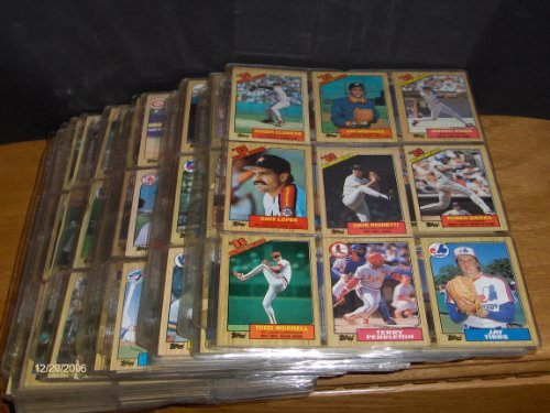 1989 Topps Baseball Card Set (1987 Topps Complete Set (Loaded w/ Rookie Cards Bonds, Clark, Bo Jackson and)