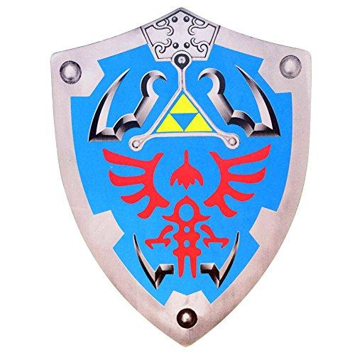 Legend of Zelda Link Hylian Hyrule Triforce Foam Shield LARP ()