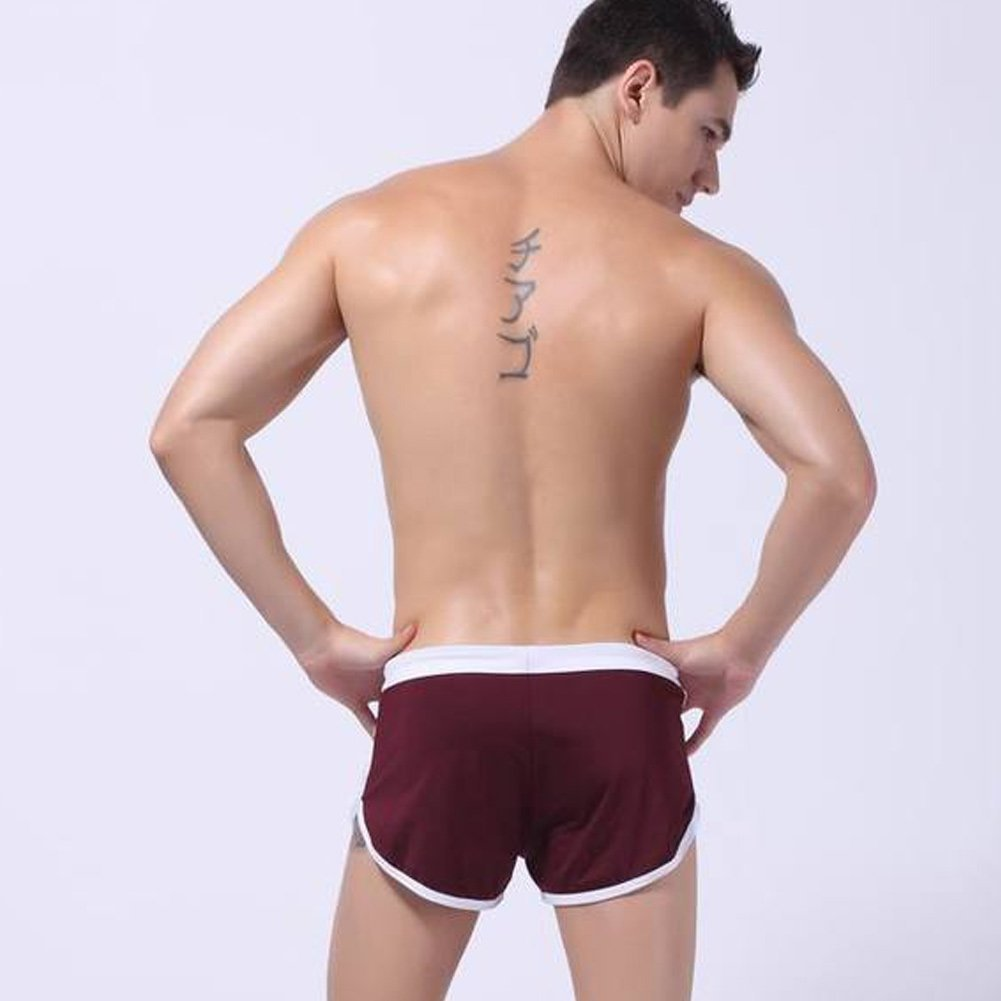 Men Elastic Boxer Shorts