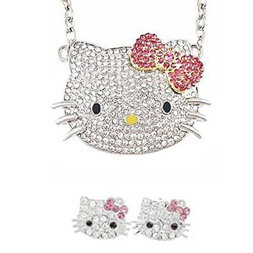 Wrapables Crystal Kitty Pink Jewelry