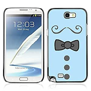 Graphic4You Bowtie Men Shirt Fashion Hard For HTC One M7 Case Cover