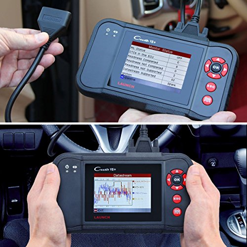 Launch X431 Creader VII+ ( CRP123) Auto Code Reader EOBD, OBD2 Scanner Scan Tool Testing Engine/Transmission/ABS/ Airbag System Update via PC by Launch (Image #1)