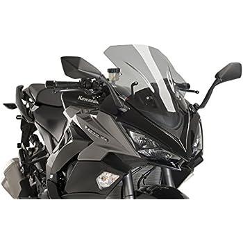 Amazon.com: PUIG – Race humo Parabrisas para KAWASAKI ZX6R ...