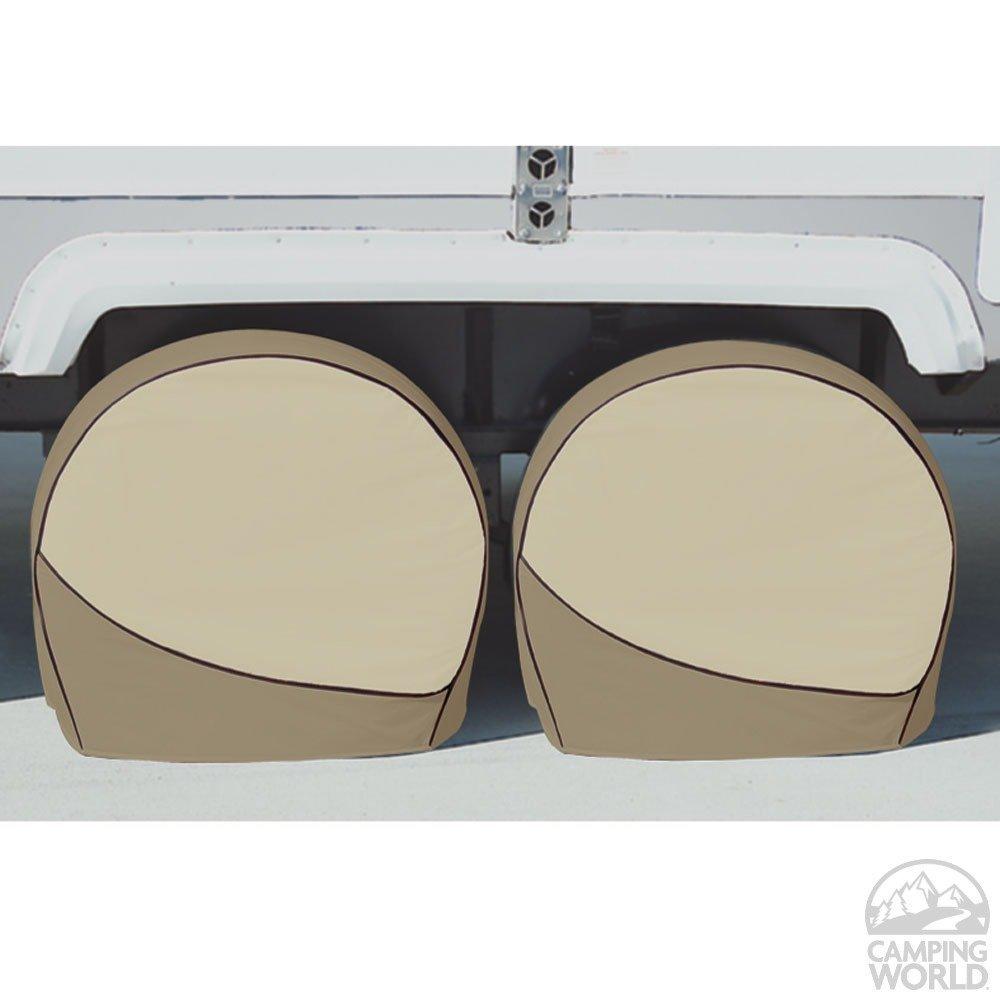 ADCO 3960 Designer Series Tan Tyre Gard Wheel Cover,36-39 36-39