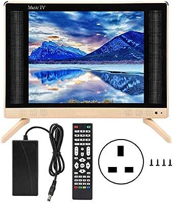 Naroote Mini TV,Mini Television Mini televisor portátil de Alta ...