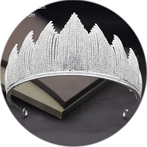 Headband For Wedding Crown Bride Tiaras And Crowns Hair Jewelry Queen King Diadem Headdress Prom Wedding Hair Ornaments Bridal