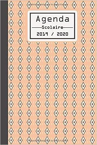 Agenda Scolaire 2019 2020: Agenda etudiant 2019 2020 ...