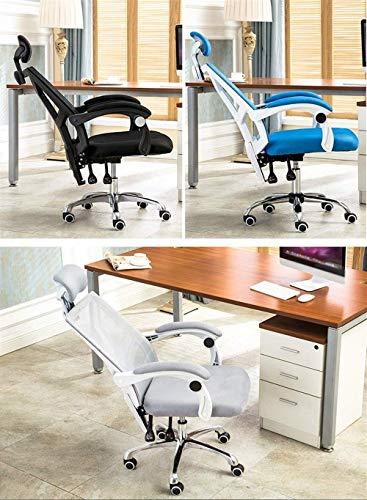 Kontorsstol konferensstol personalstol svängbar stol hushåll arbetsrum stol datorstol GMING (färg: Blå)