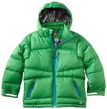 Columbia Big Boys' Space Heater Ii Jacket, Fuse Green, 10/12