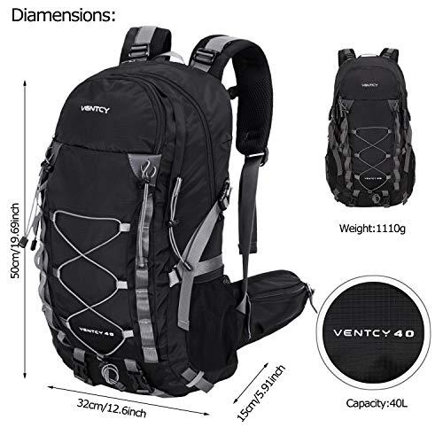 Impermeable Etanche Sport Trekking Nouveau Ventcy Noir 40l Voyage 35l 2019 Homme Femme Randonnée Dos Camping Rose Sac À wwS7qgf