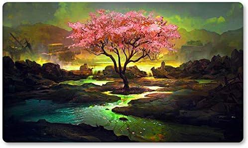 MTG Magic Forest Tree Lights Playmat