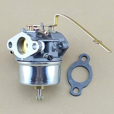 QAZAKY Reemplazo del Kit de carburador para Tecumseh 631921 631070 ...