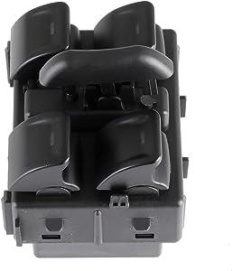 Window Switch,Power Window Master Switch,Power Window Control Switch Door Switch Replacement Door, Power Window Switch fits for 2011-2016 Jeep Wrangler 4 Door Dash Mounted OE 68156217AB