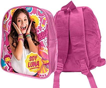 mc 3D Soy Luna Rucksack für Kinder, 32 cm, Rosa: