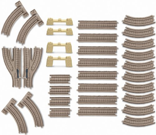 Thomas the Train: TrackMaster Deluxe Expansion Track Pack (Train Track Plastic)