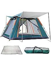 Reavee - Tienda de campaña familiar para 3 personas, impermeable, con mosca y bolsa de transporte, fácil instalación en 60s
