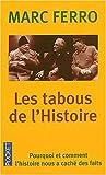 TABOUS DE L HISTOIRE