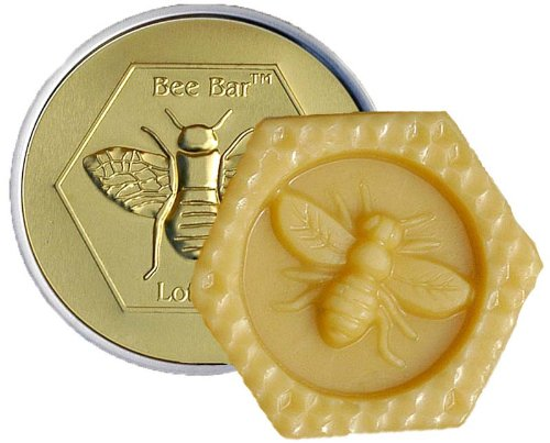 Vanilla Bee Bar Skin Care Moisturizing Solid Lotion Bar, Mad