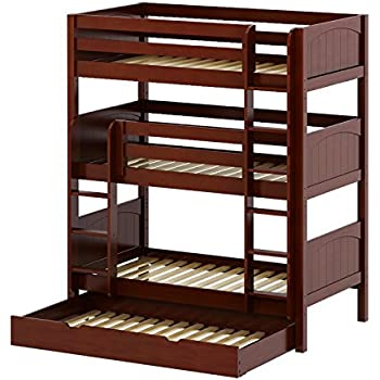 Ideal Amazon.com: TRIPLE TWIN BUNK BED: Kitchen & Dining TV96